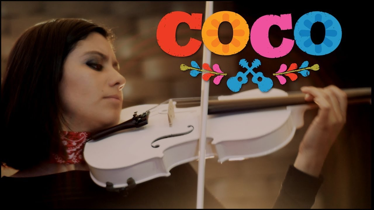 Coco Recuérdame Violin Cover Martha Psyko Youtube