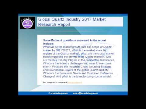 Quartz Market is expected to rise at a remarkable CAGR By 2022