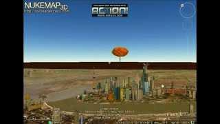Tsar Bomb NuclearMap3D Testing the Arsenal