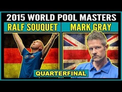 Darren Appleton vs Mark Gray | SF | 2015 World Pool Masters 9-ball