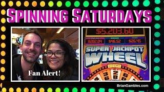 Super Jackpot Wheel ✦ SPINNING SATURDAYS ✦ EVERY SATURDAY Slot Machine Pokies at #Pechanga
