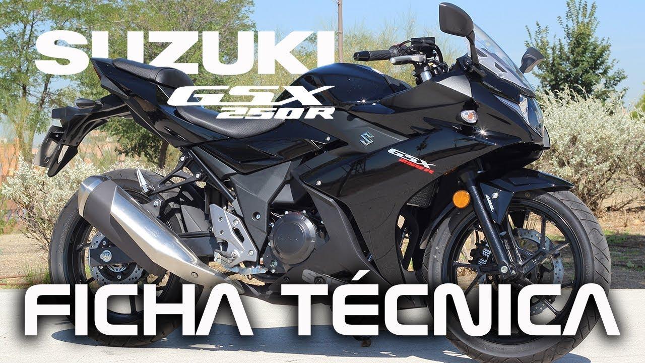 Suzuki Gsx 250r 2017 Ficha Tecnica Youtube