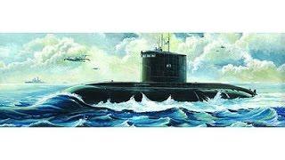 1/350 Hobby Boss Russian Kilo Class Submarine - Inbox review
