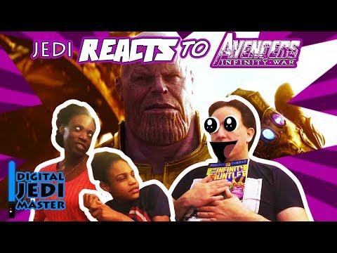 """JEDI REACTS!: """"Avengers: Infinity War"""" Teaser Trailer"""