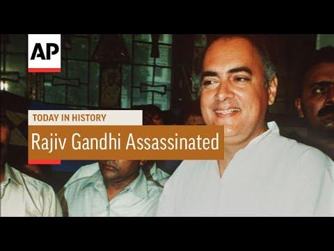 Rajiv Gandhi Assassinated - 1991 | Today In History | 21 May 17