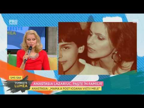 Emisiunea Vorbeste Lumea invitata Anastasia Lazariuc