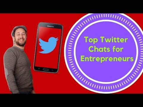 Twitter Chats For Entrepreneurs (Top 7)