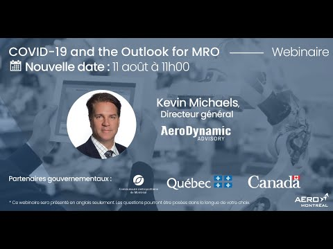 Webinaire (en anglais) : COVID-19 and the Outlook for MRO
