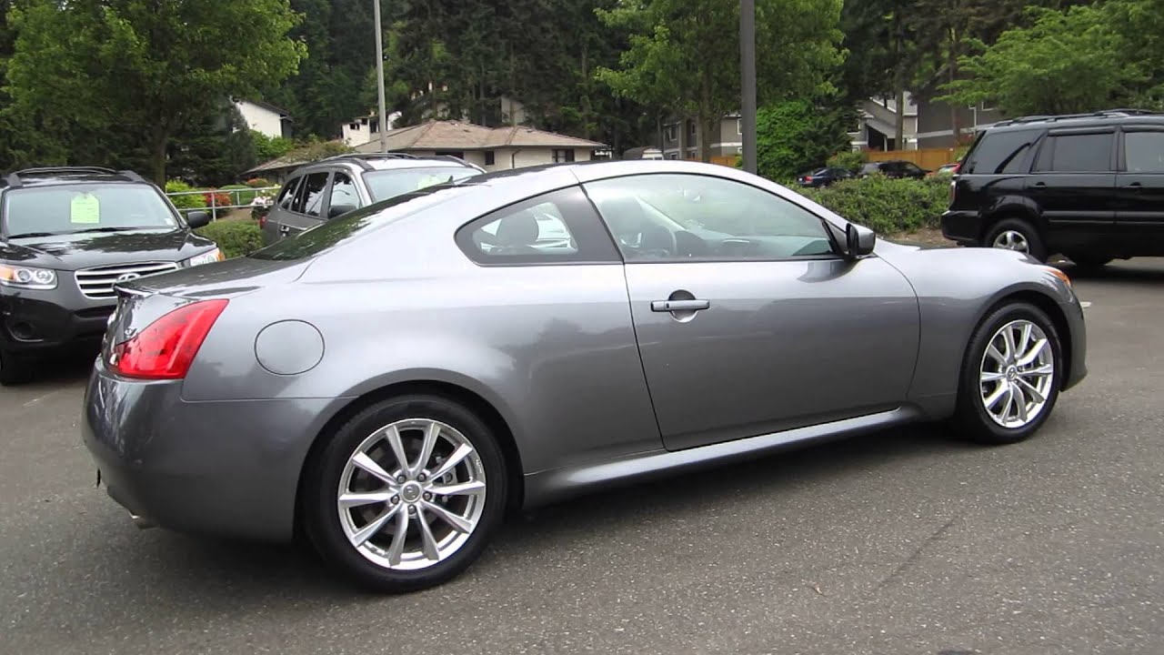 2011 infiniti g37 coupe graphite shadow stock 5182. Black Bedroom Furniture Sets. Home Design Ideas