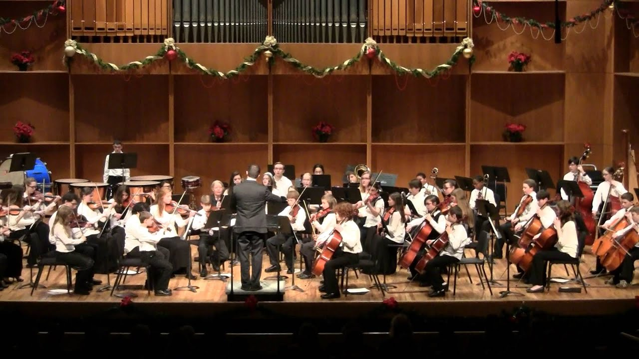 Unfinished Symphony Winter Concert 2014 - YouTube