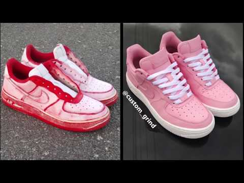 How to Paint Your Shoes (Airbrush customize) Tutorial