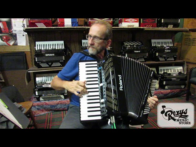Accordion, Clarinet, and Harmonica on the Roland FR-3x