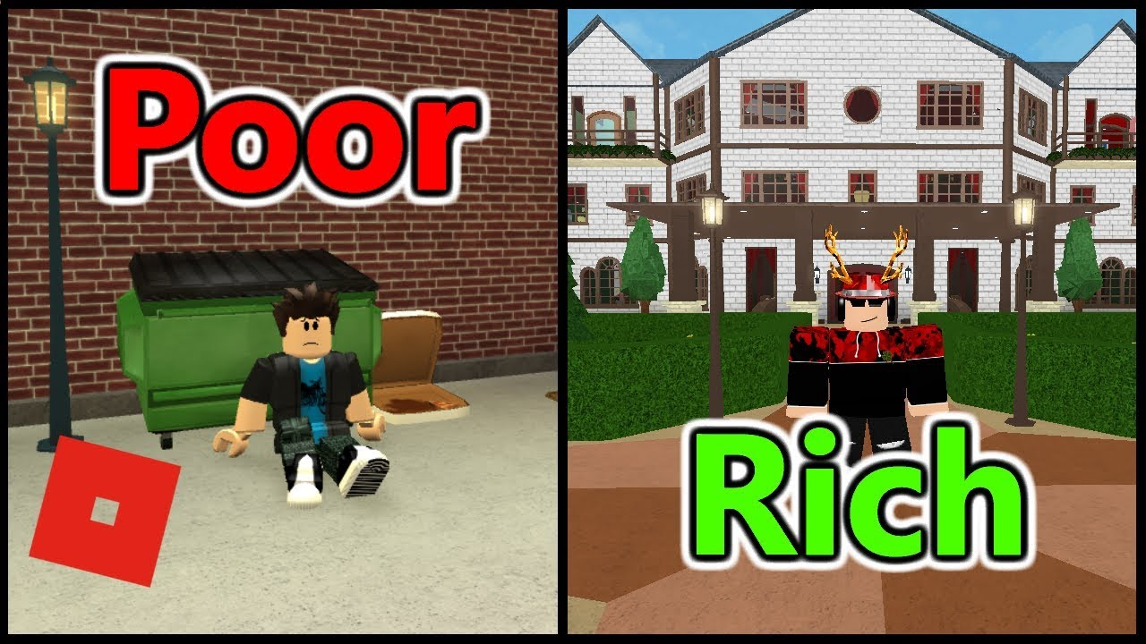 Poor To Rich Bloxburg Short Film Roblox Story Youtube