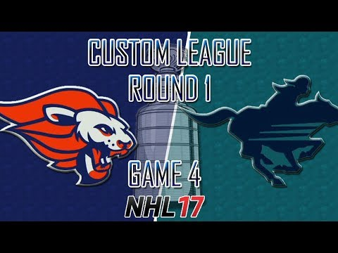 NHL 17 - Custom League - Baltimore @ Calgary Round 1 Game 4
