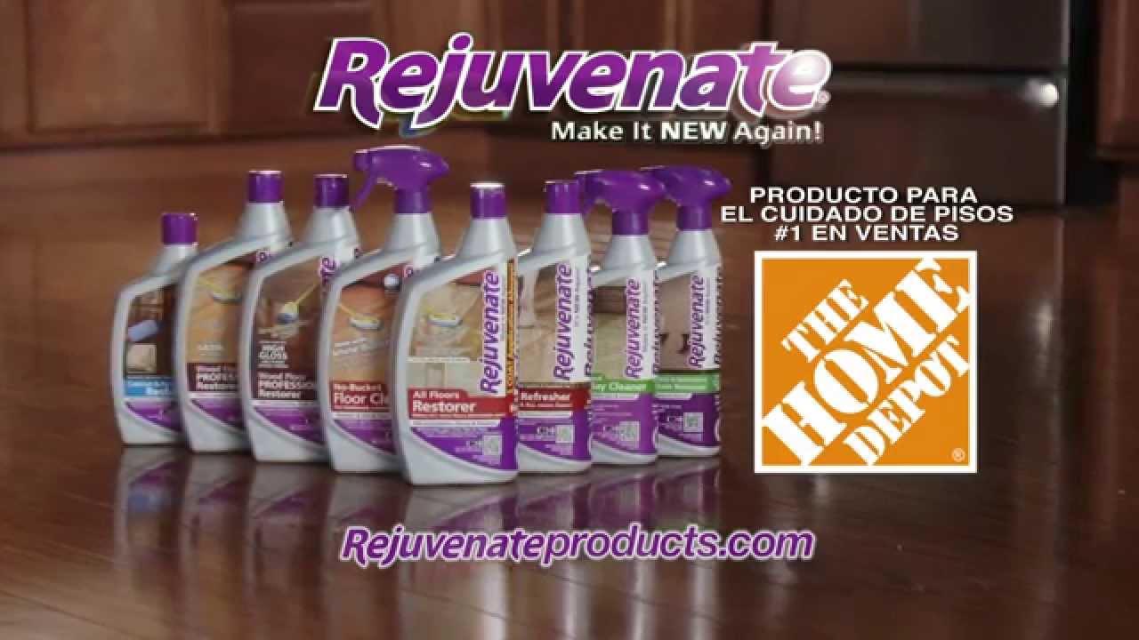 Rejuvenate espanol youtube for Home depot productos