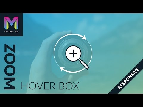 Zoom Hover Box Widget | Adobe Muse CC | Muse For You