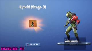 *NEW* HYBRID STAGE 3 UNLOCKED on Fortnite Battle Royale Season 8