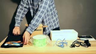 MBot 3D CubeII printer ,unboxing