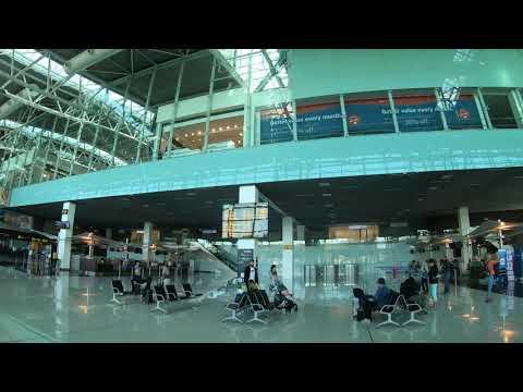 Bratislava Airport 4K - Departures