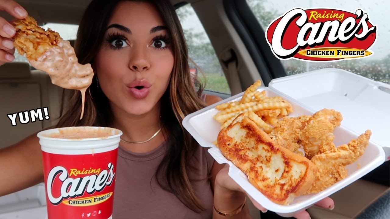 Download CANES MUKBANG with a HUGE CUP of SAUCE!