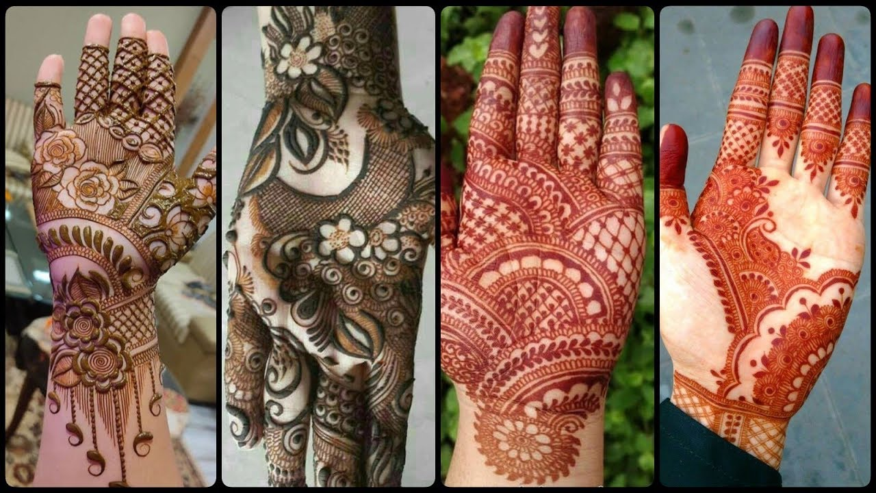 new mehndi designs front hand 2021
