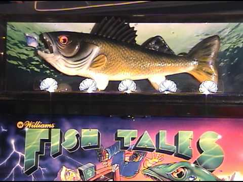 """Fish Tales"" - Pt. 4: My Pinball Collection (Williams 1992)"