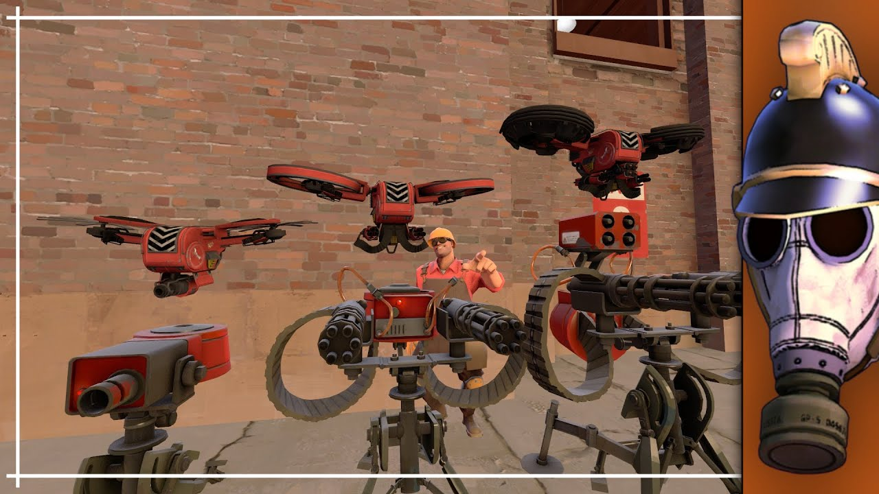 TF2: Top 6 Engineer Buildings For TF2!