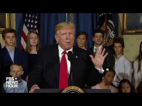 PBS NewsHour: President Trump healthcare statement