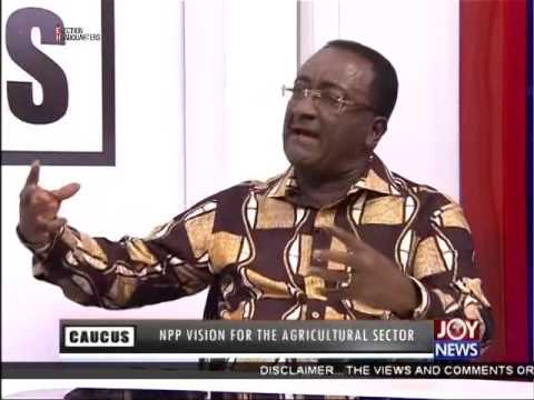NPP Vision For The Agricultural Sector - Majority Caucus on Joy News (3-11-16)