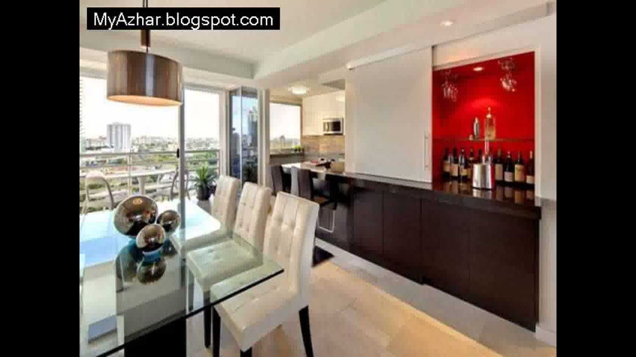 Apartment design ideas small apartment bar ideas1 youtube for Small bar furniture for apartment