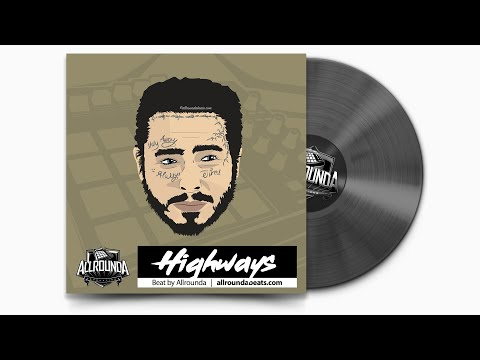 "FREE | Post Malone Type Instrumental 2020 ~ ""Highways"" | Smooth Trap Beat 2020"