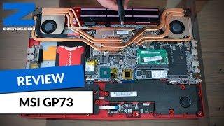 Review: Notebook gamer MSI GP73  - Pruebas y desarme