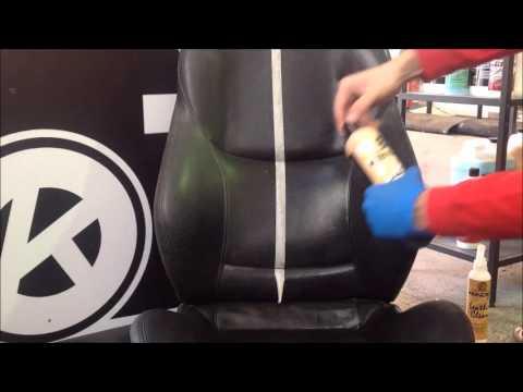 Como limpiar un asiento de cuero video 1 for Como limpiar asientos de cuero