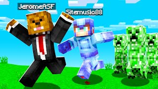 TRANSFORMING Into Creepers In Minecraft | JeromeASF