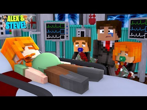 Minecraft THE UNBORN BABY IS KILLING ALEX!!! Life Of Alex & Steve