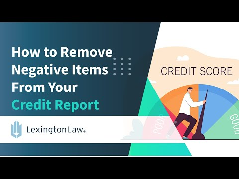 how-to-remove-negative-items-from-your-credit-report