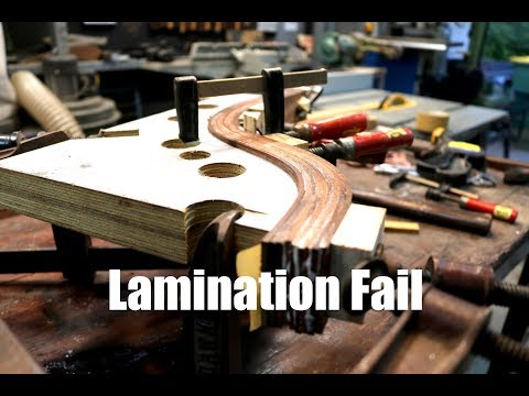 Laminated Wood Leg Fail and Shop Update - Forme Industrious