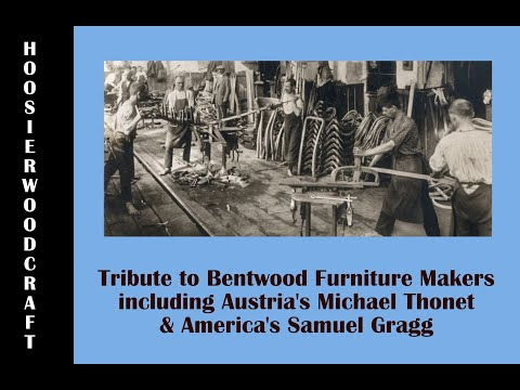 Bentwood Furniture of Michael Thonet and Samuel Gragg