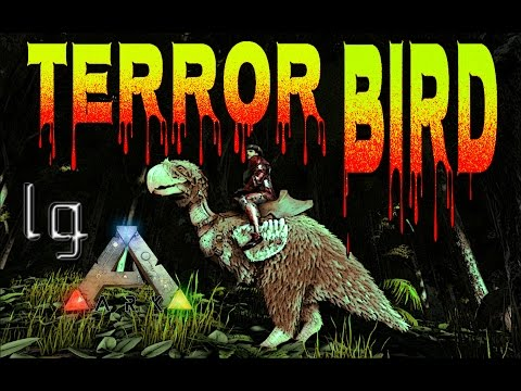 Ark: Survival Evolved - Terror Bird Taming & Review