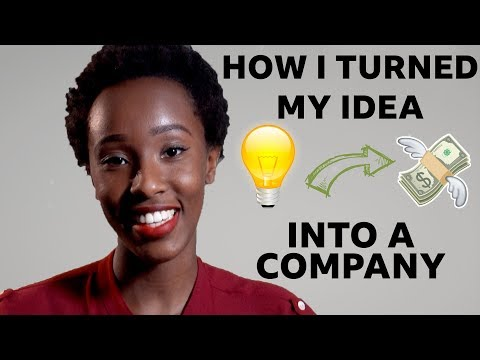How to turn your idea into a business - BBC Africa