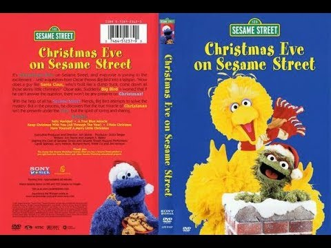 Christmas Eve On Sesame Street.Christmas Eve On Sesame Street Animation Movies For Kids
