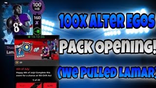 100x Alter Ego WIN Packs WE PULLED Lamar!