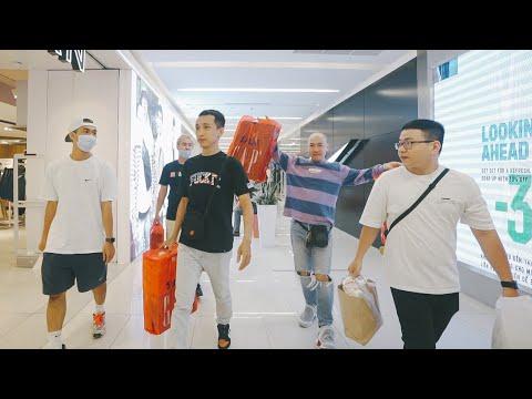 Đi mua đồ SALE 50% của Nike và những câu chuyện phiếm cuối tuần - Thầy dạy nhảy Lộc Bang