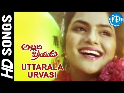 Uttarala Urvasi Video Song - Allari Priyudu Movie | Rajasekhar, Ramya Krishna, Madhubala