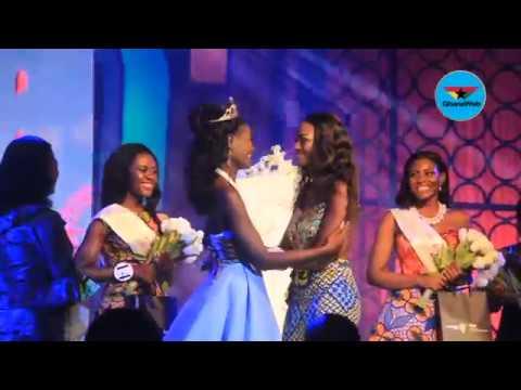 Margaret Mwintuur Dery wins Miss Ghana 2017