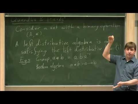 Knot Theory and  Set theory