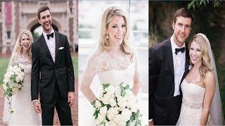 Alex Pietrangelo S Wife Jayne Cox Wedding Moment Youtube