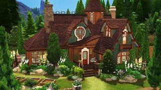 JARDIN DE la SORCIÈRE de la FAMILLE à la MAISON   | Les Sims 4 | Vitesse de Construire
