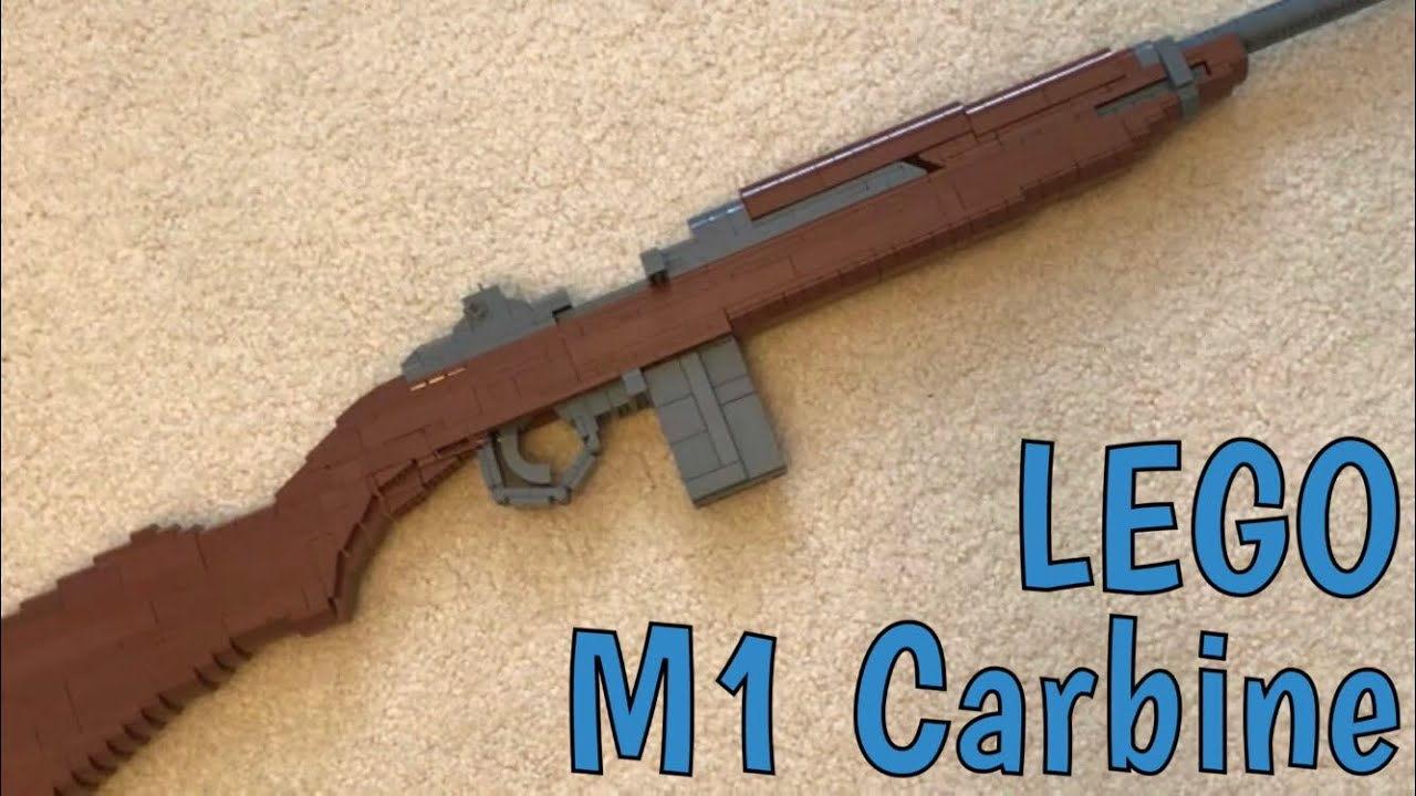 lego m1 carbine youtube