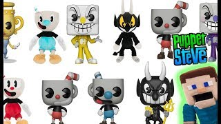 cuphead funko pop vinyl toys plush trailer reveal rap gameplay review song puppet steve